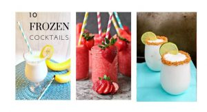 10 Frozen Summer Cocktail Recipes