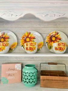 Summer home decor subscription aqua vase