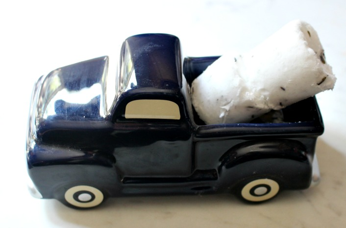 mini truck with shower melts