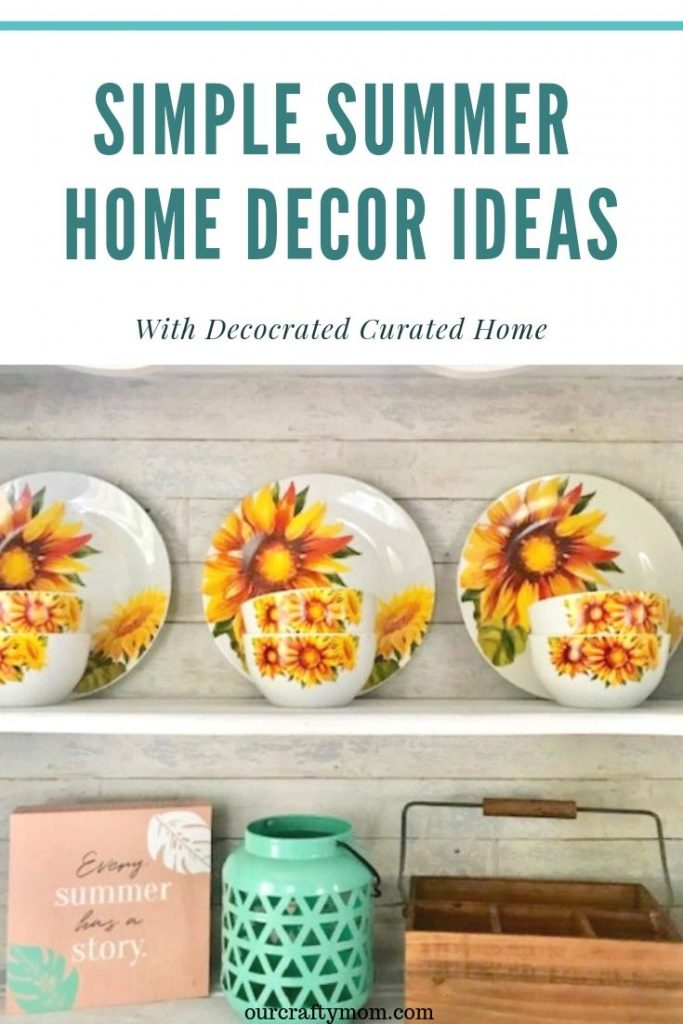 simple and fun summer home decor ideas with decocrated subscription box
