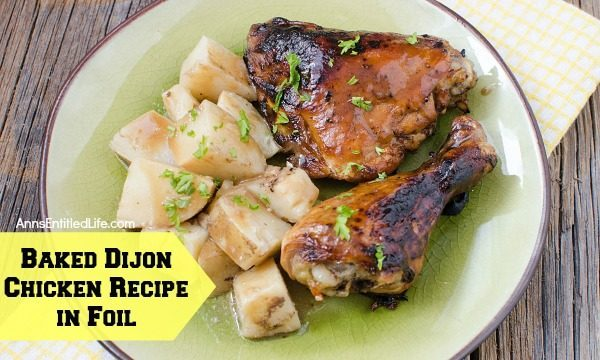 Baked Dijon Chicken Recipe in Foil