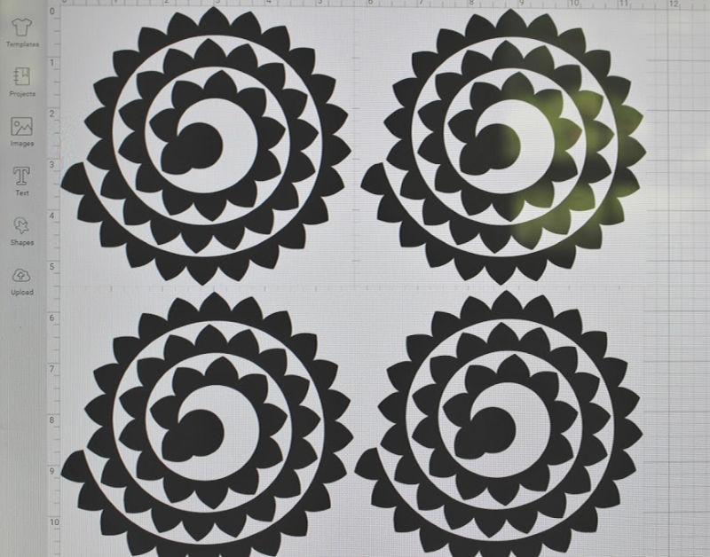 duplicate flowers