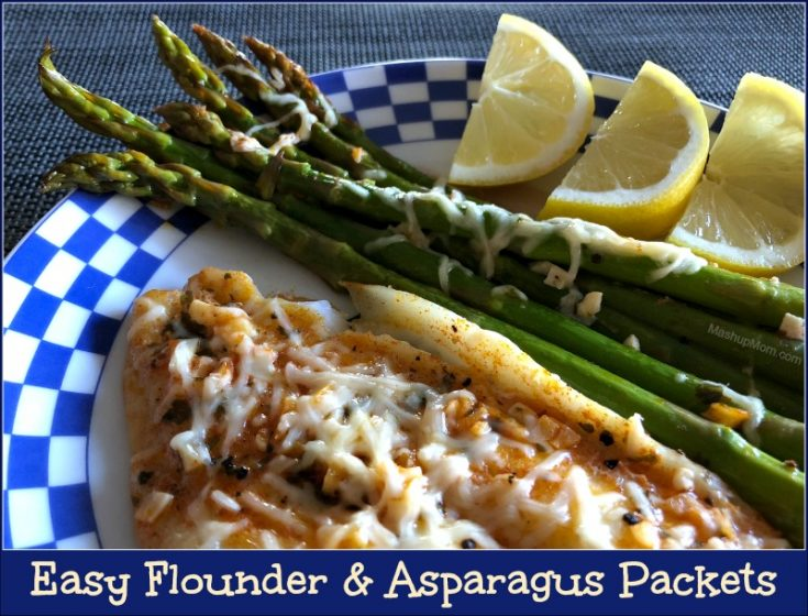 Easy Flounder & Asparagus Packets