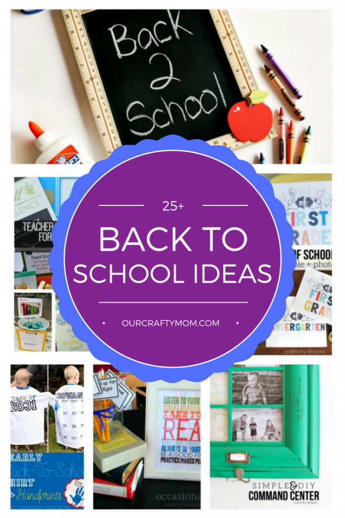 25 quick and easy back to school ideas