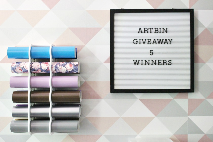ArtBin Giveaway Letter Board