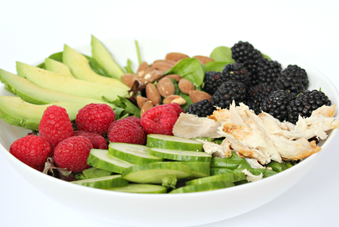 Berry Delicious Avocado Chicken Salad