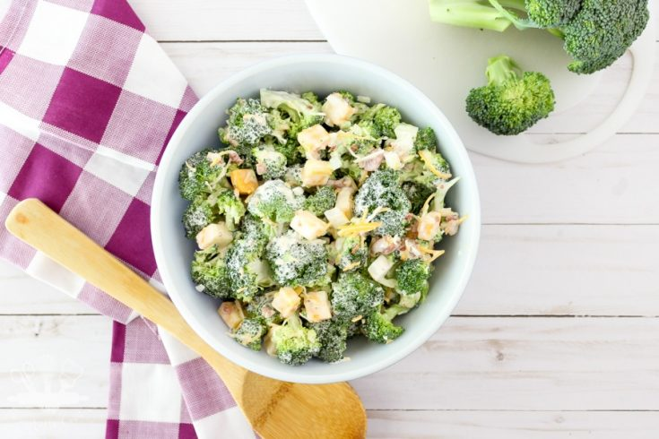 Sugar Free Broccoli Salad