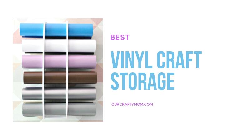 best vinyl craft storage ideas and giveaway