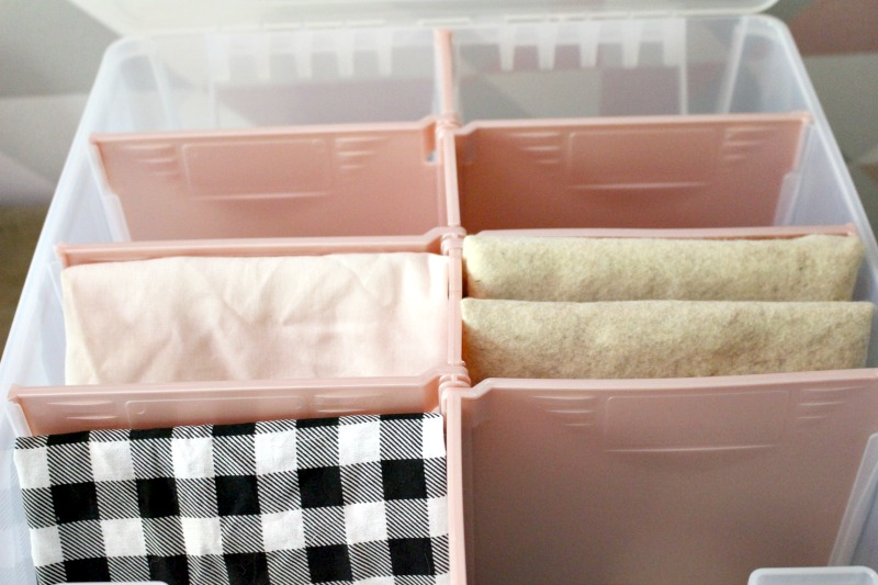 craft fabric storage