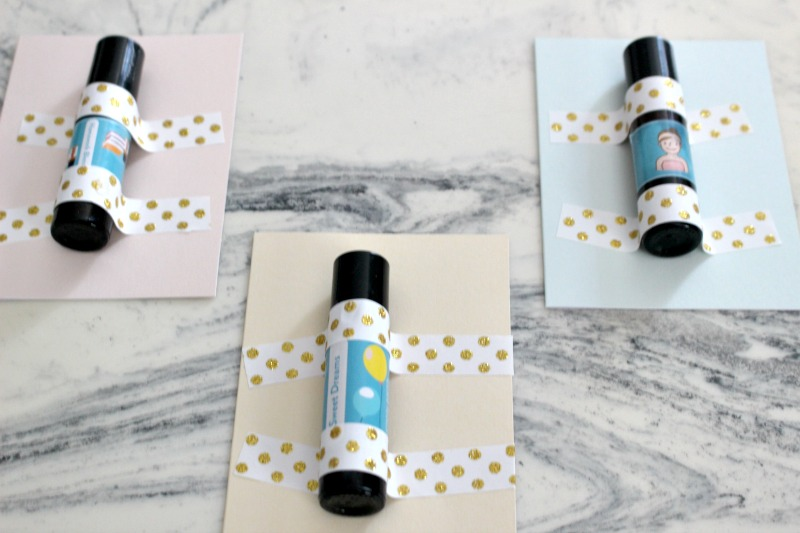 set of three roll on essential oil teacher gifts