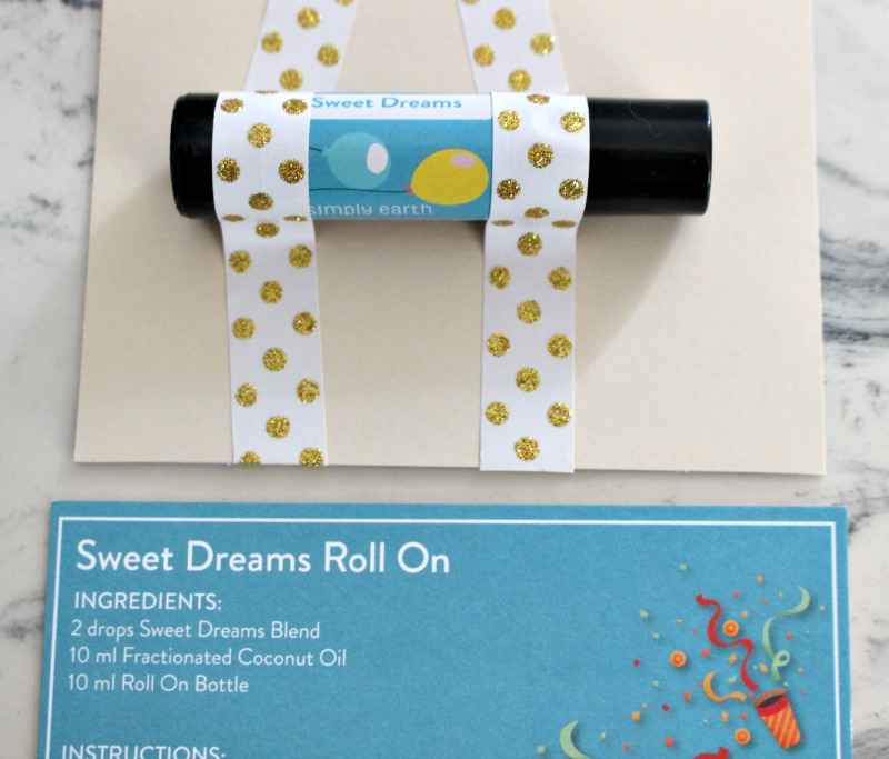 sweet dreams essential oil roll on teacher gift