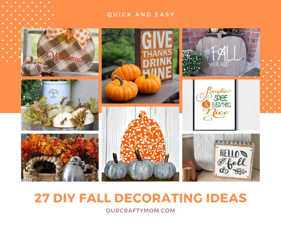 27 diy fall decorating ideas