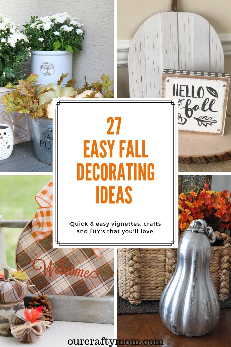 27 fall decorating ideas