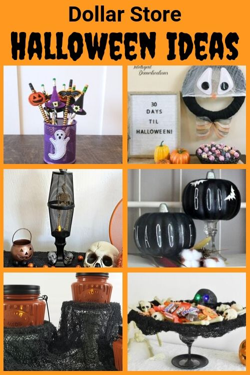 Dollar Store Halloween Ideas