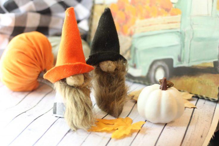 DIY Fall Gnomes