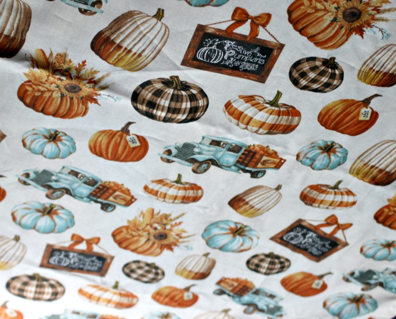 pumpkin patch table runner
