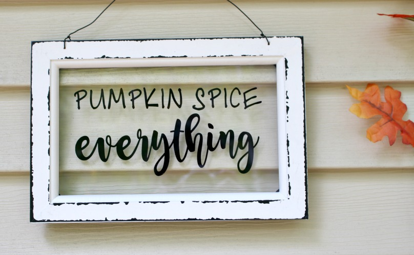 pumpkin spice everything sign