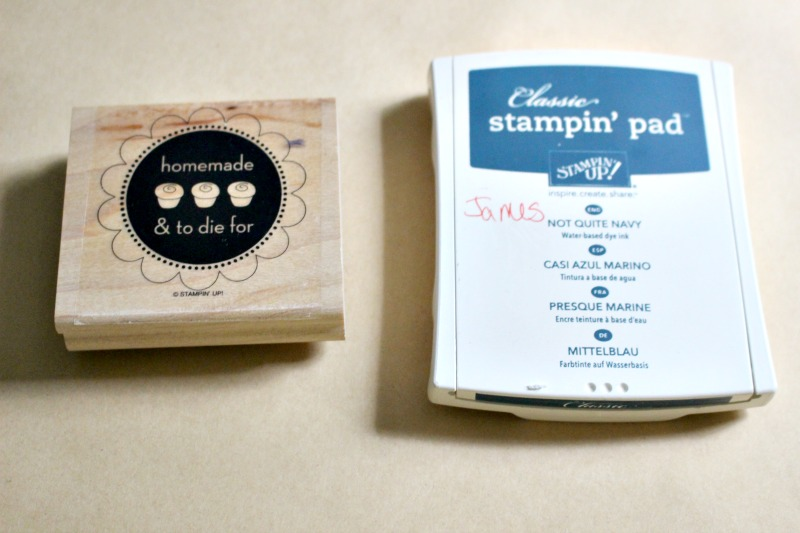 rubber stamp supplies for party favors