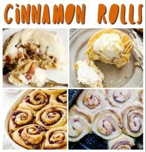 Cinnamon rolls pin image