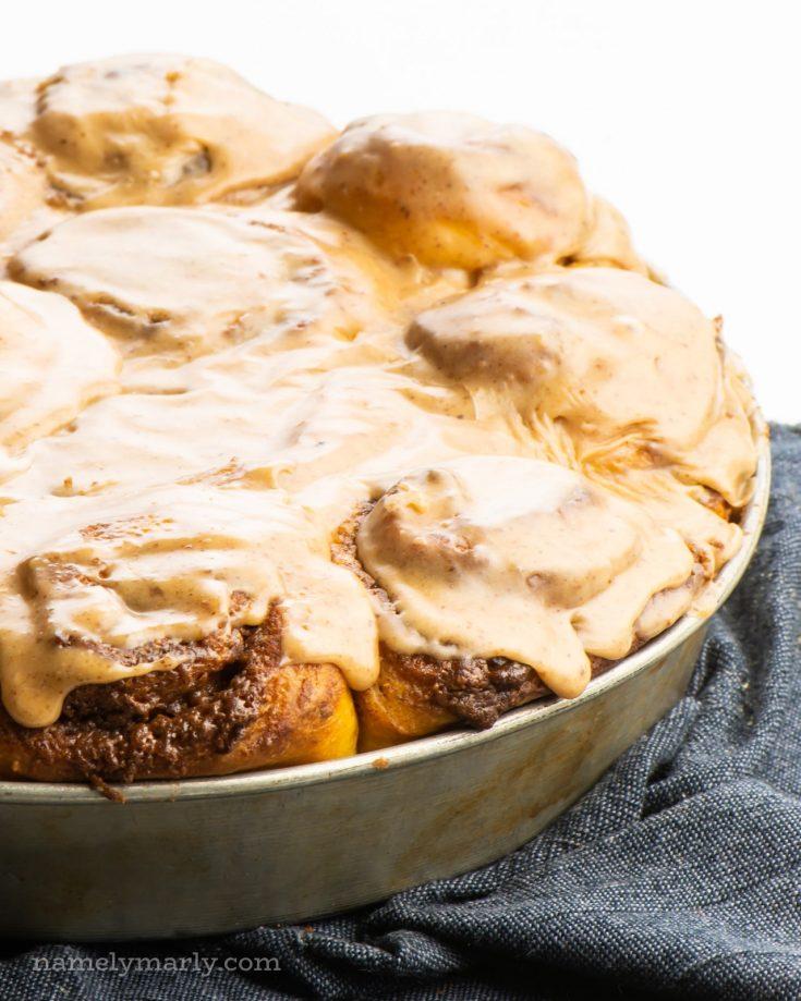 Sweet Potato Cinnamon Rolls — Best Vegan Recipe!