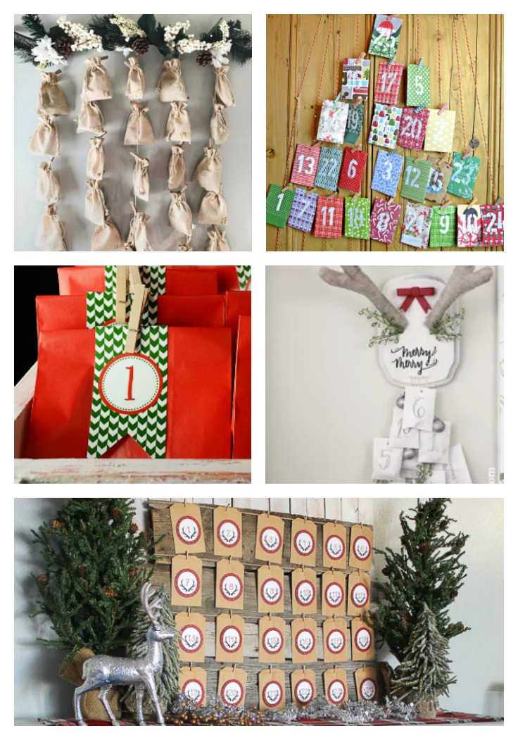 Advent Calendar DIY Ideas