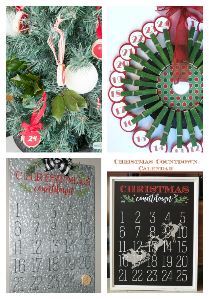 Christmas Countdown Advent Calendars