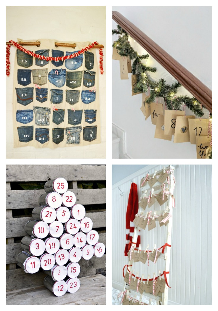 Recycled Advent Calendars