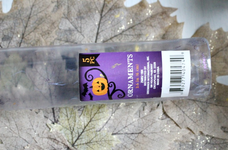 halloween ornament tube