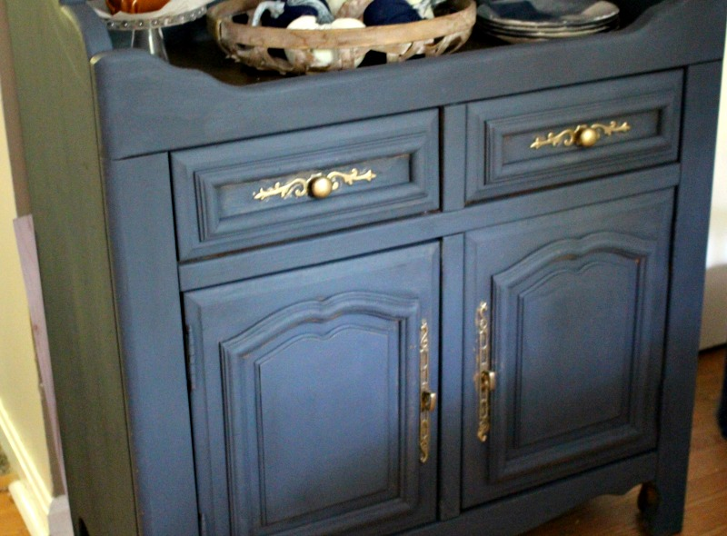 sideboard buffet makeover bottom view