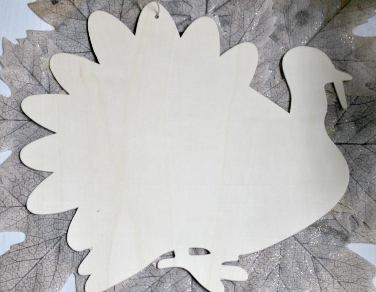 unfinished dollar tree turkey