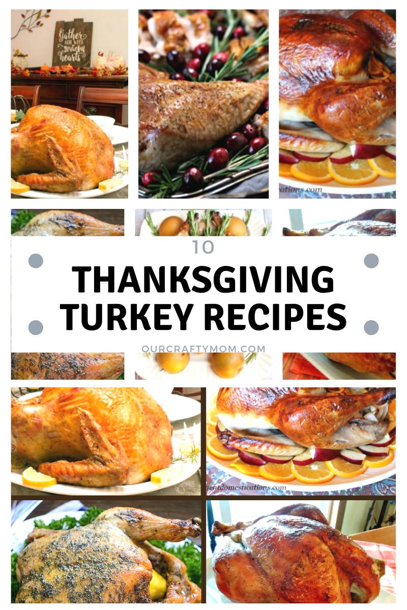 10 turkey recipes