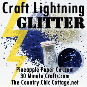 Glitter Craft Lightning