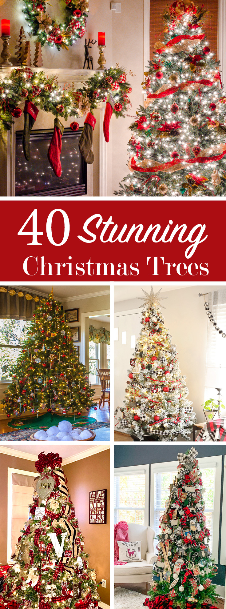 40 stunning Christmas trees