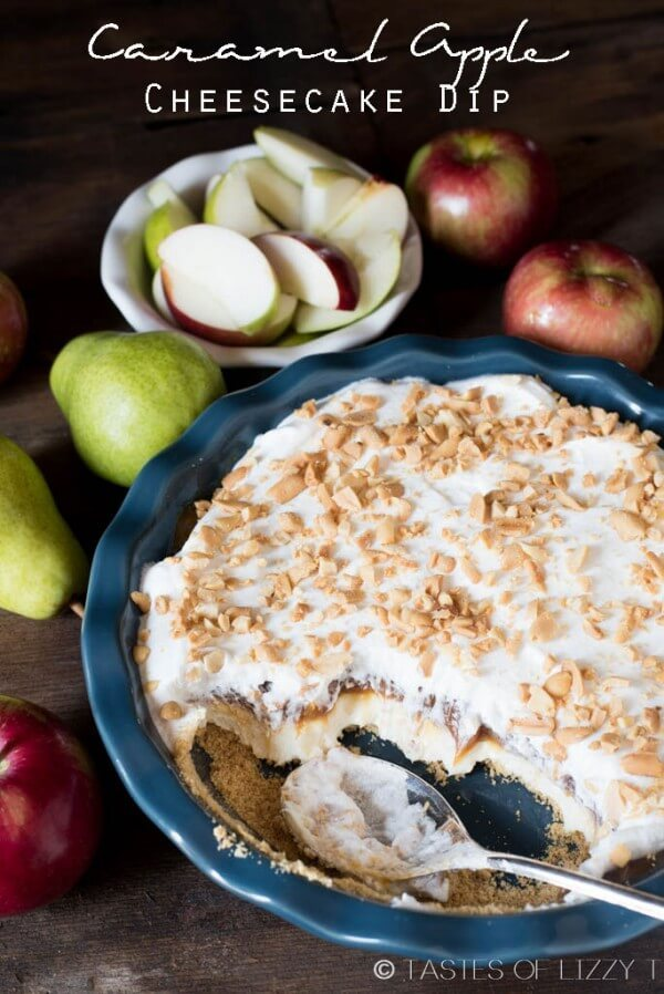 Caramel Apple Cheesecake Dip - Tastes of Lizzy T