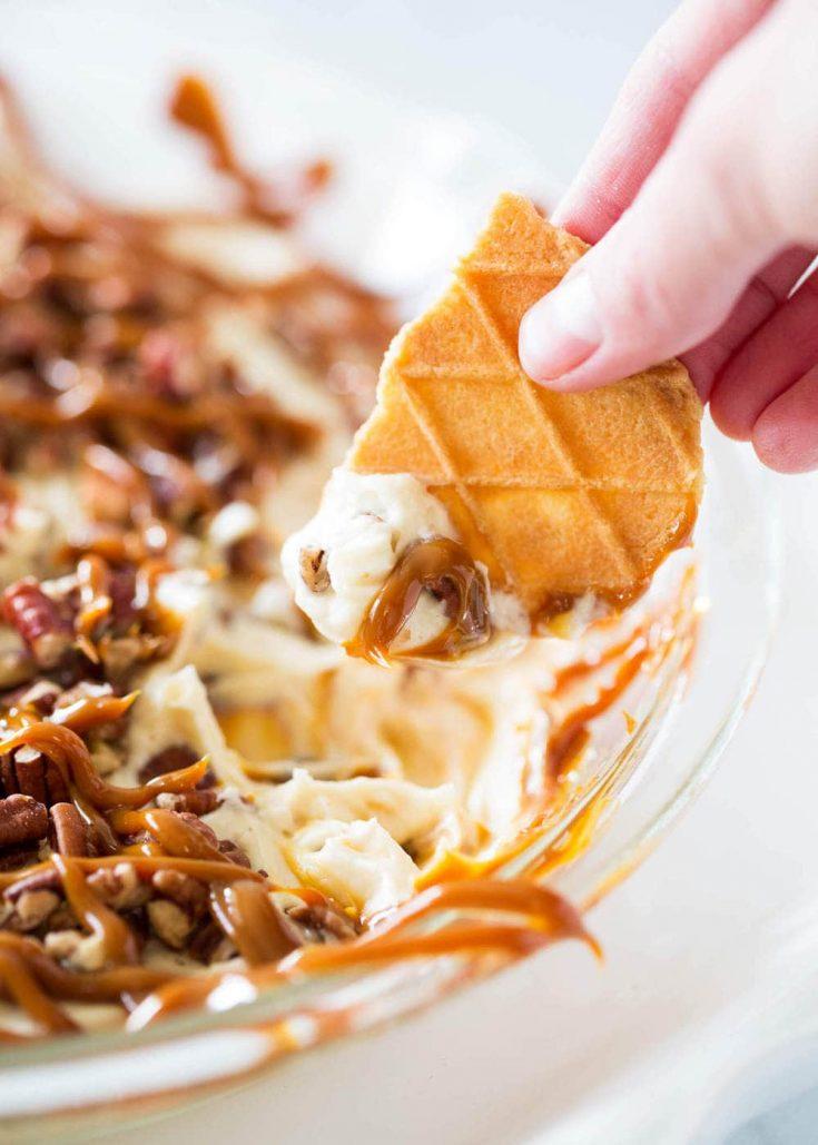 No-Bake Cheesecake Dip – 4 Ways!