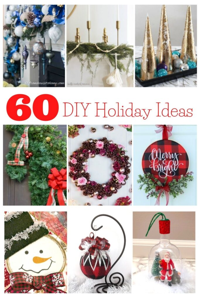 60 diy holiday ideas