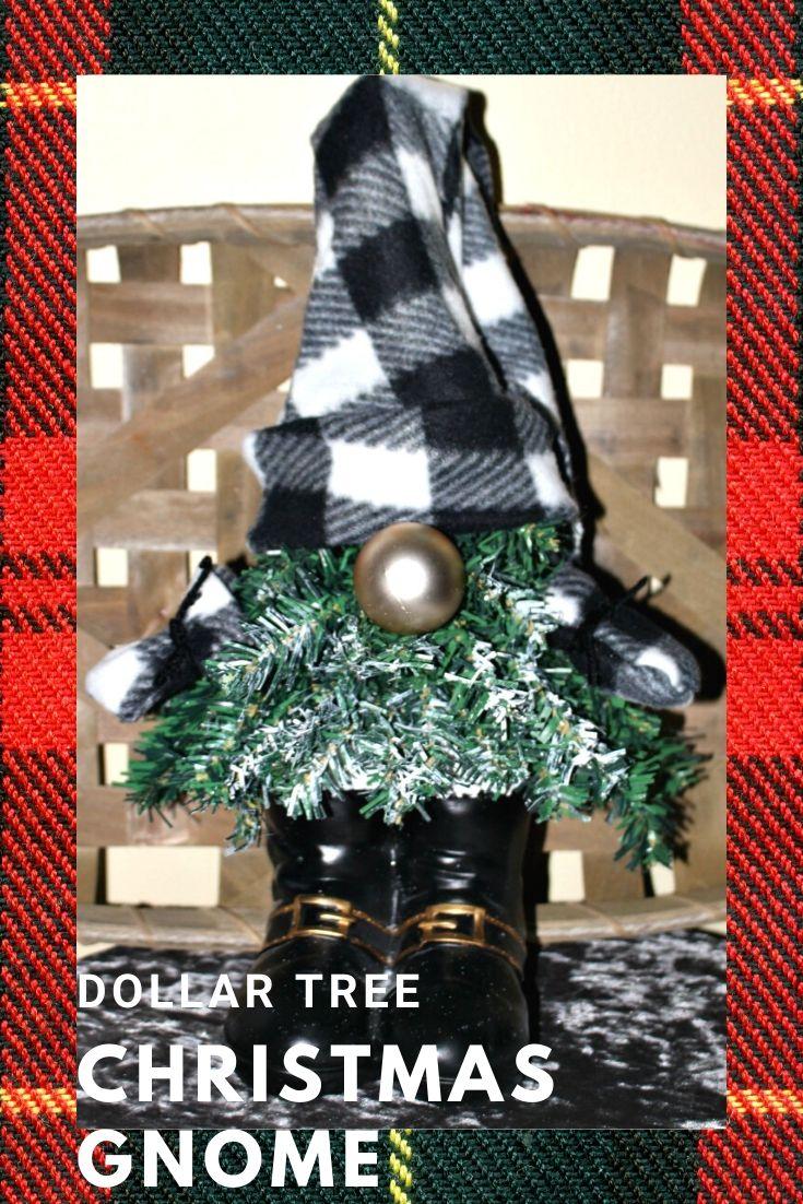 Dollar Tree Christmas Gnome