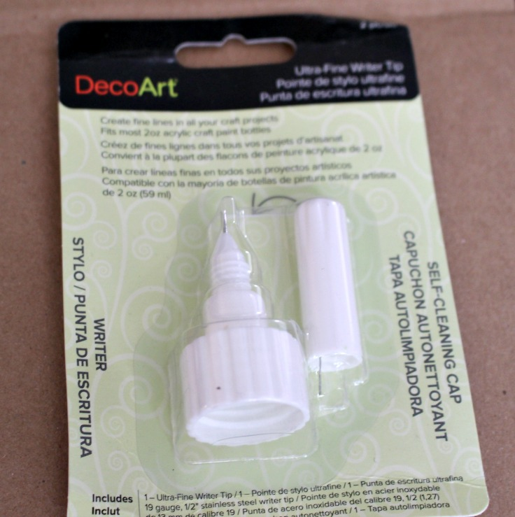 DecoArt Ultra Fine Writer Tip in package