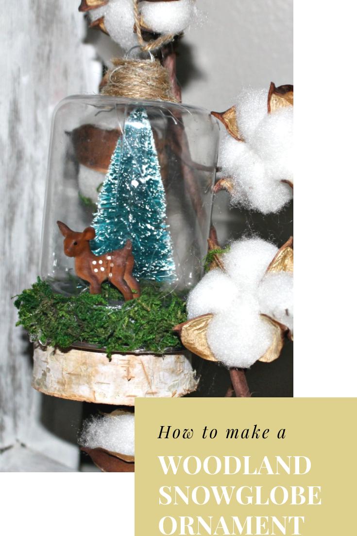 Dollar Tree Christmas Snow Globe