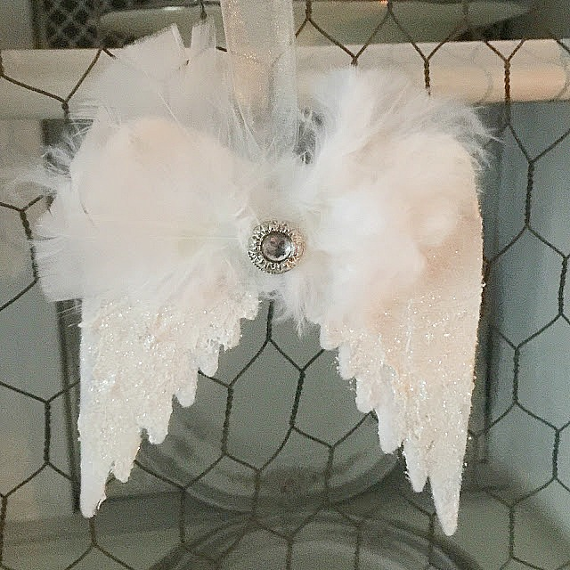 angel wings ornaments