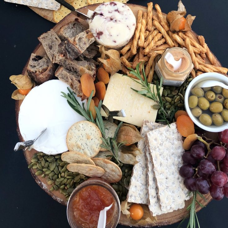 How To Build A Holiday Cheese Board — Food, Pleasure & Health