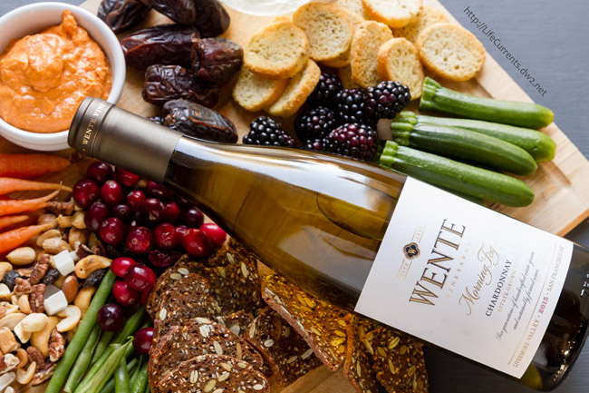 A Wonderful Wine and Cheese Party Featuring Wente Vineyards Wines