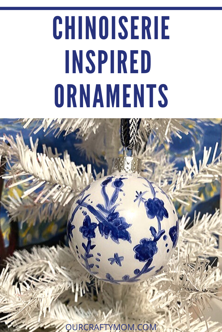 chinoiserie inspired ornaments