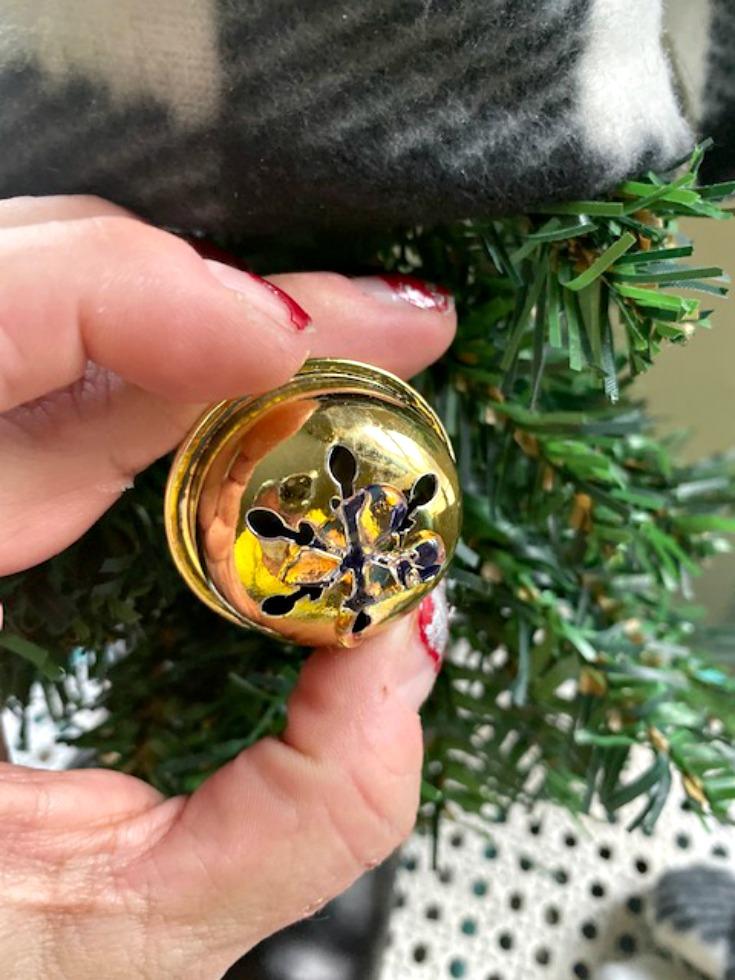 jingle bell for Christmas gnome