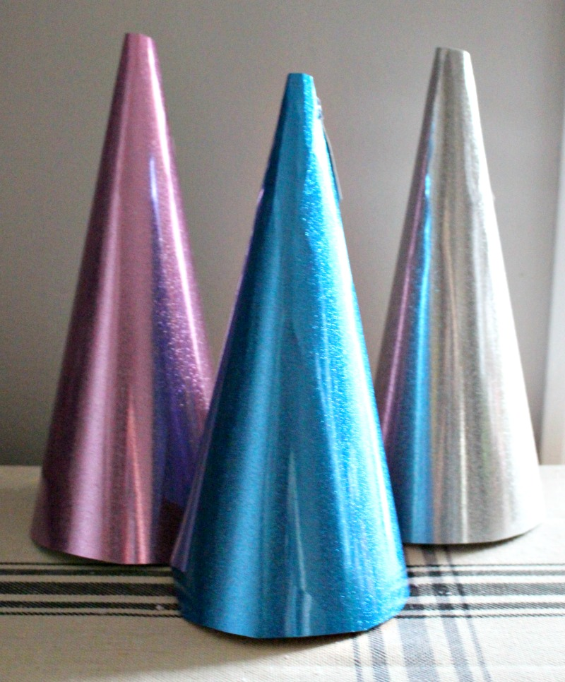 trio of christmas trees