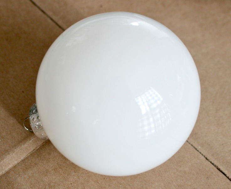 white ornament