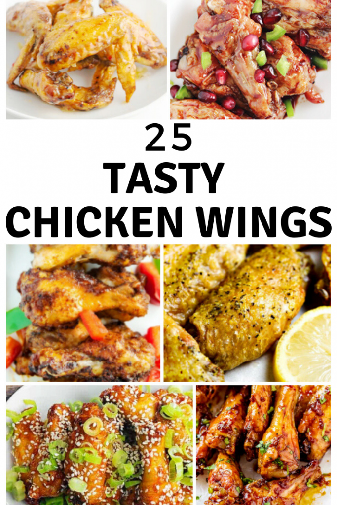 25 chicken wings recipes