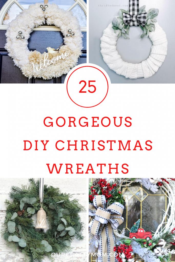 25 DIY christmas wreaths