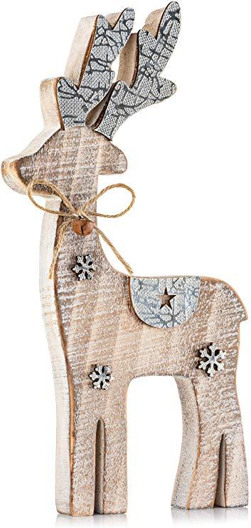Reindeer Decor   Farmhouse Holiday Display Set