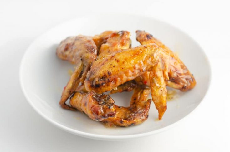 Crispy Pineapple-Habanero Chicken Wings Recipe